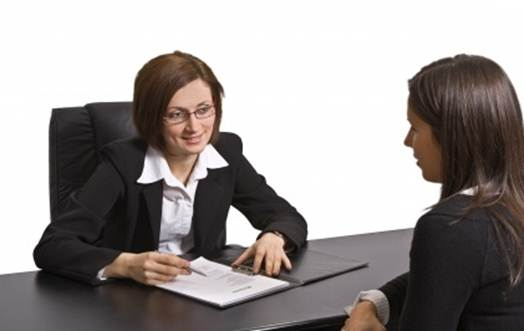 Description: talk calm and confidently about your experience and skills and ask questions when an opening arises