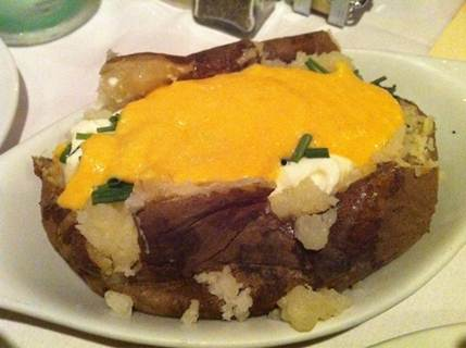 Description: Description: Baked Potatoes with a Cheese Sauce