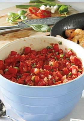 Description: Description: Description: Description: Shrimp noodle with delicious tomato sauce