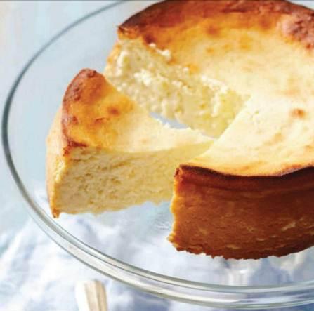 Description: Description: Lemon curd cheesescake