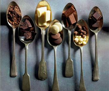 Description: Description: Chocolate is typically high in saturated fat
