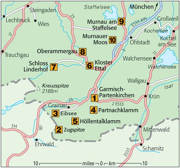 Munich To Garmisch