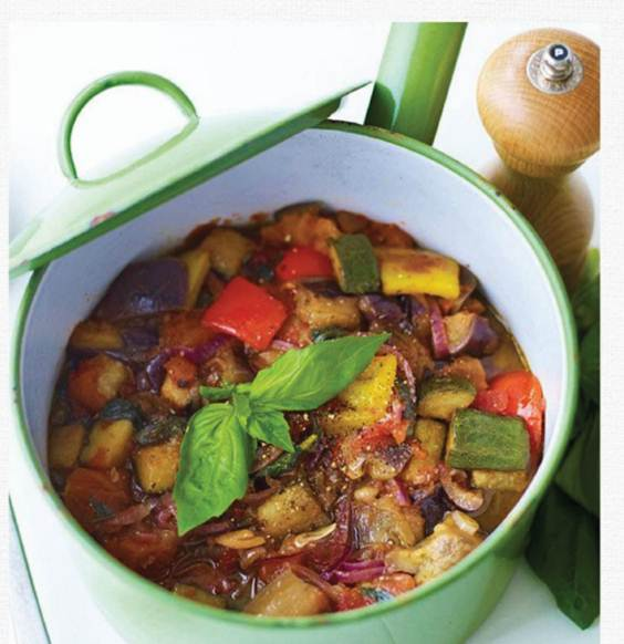 Description: Fragrant ratatouille