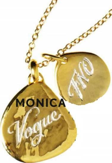 Description: Monica Vinader – Pendants, from $105
