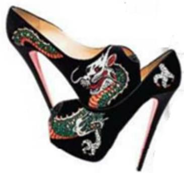 Description: Christian Louboutin shoes, $1643