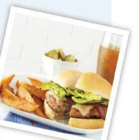 Description: Description: Description: Description: Turkey cheese hamburger