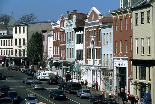 Washington D C Around Town Georgetown Part 2
