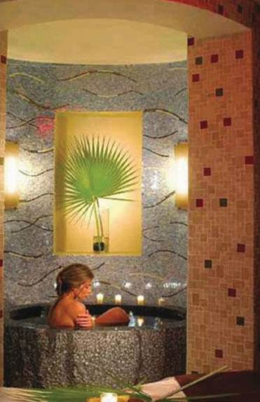 Description: Canyon ranch's spa is a haven of water-based experiences