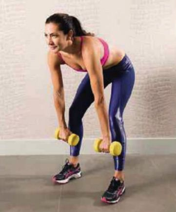 Description: Using dumbbells won't feel as restrictive as using a bar, as you can work each side independently.