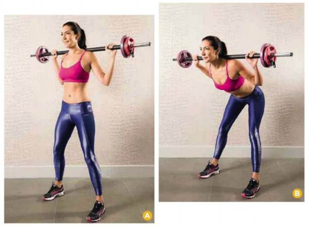 Description: This move targets your hamstrings, glutes and inner thighs. Your lower back and core also have to work extra hard to stabilize the movement.