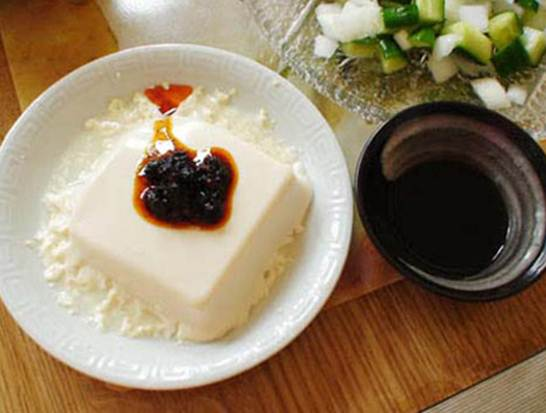Description: You should get into the habit of eating tofu every day to lose weight