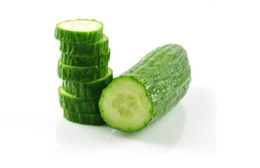 Description: Cucumbers are very good for skin