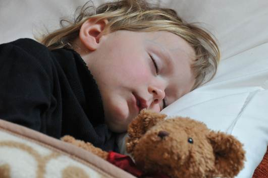 Description: Lack of sleep makes children piggish, tired and affects their grades.