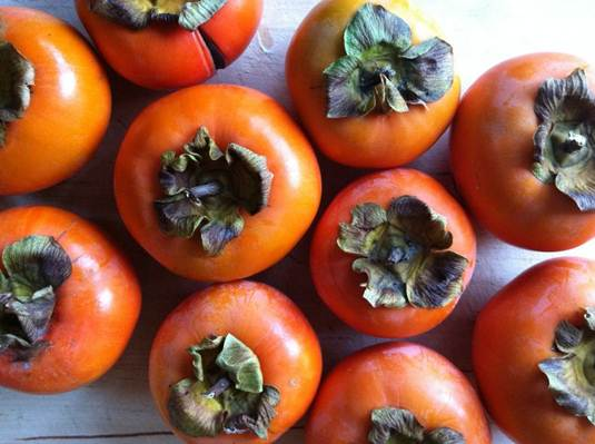 how to choose a persimmon