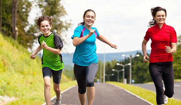 Description: Make time to go out and do some exercise to reduce the risk of diabetes.