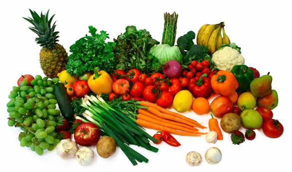 Description: Fibrous foods include fruits, vegetables, beans and almonds.