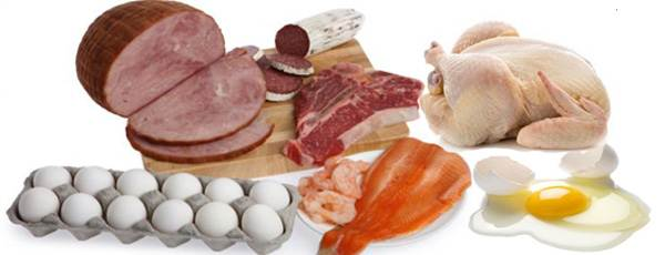 Description: Have lean protein from lean meat, chicken, fish, eggs, tofu and turkey.
