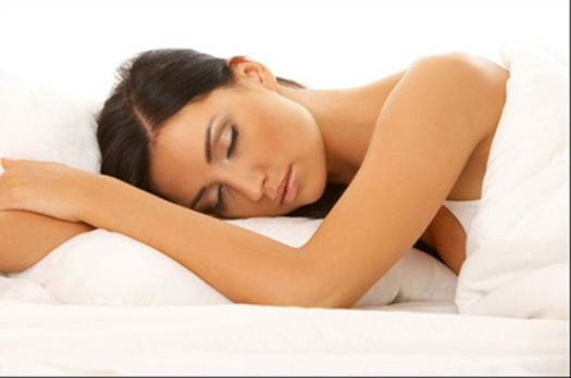 Description: Bad sleeping habit also creates wrinkles