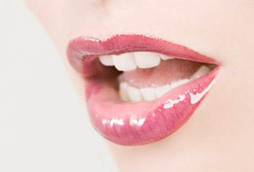 Description: You shouldn't apply lip gloss before an interview