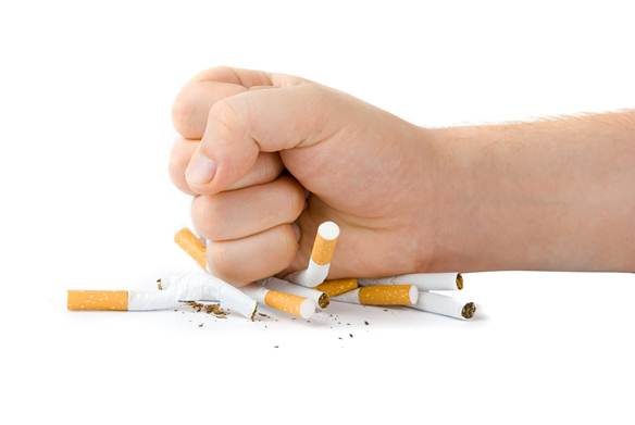 Description: If you're in troubles of quitting smoking, ask your doctor for helps.