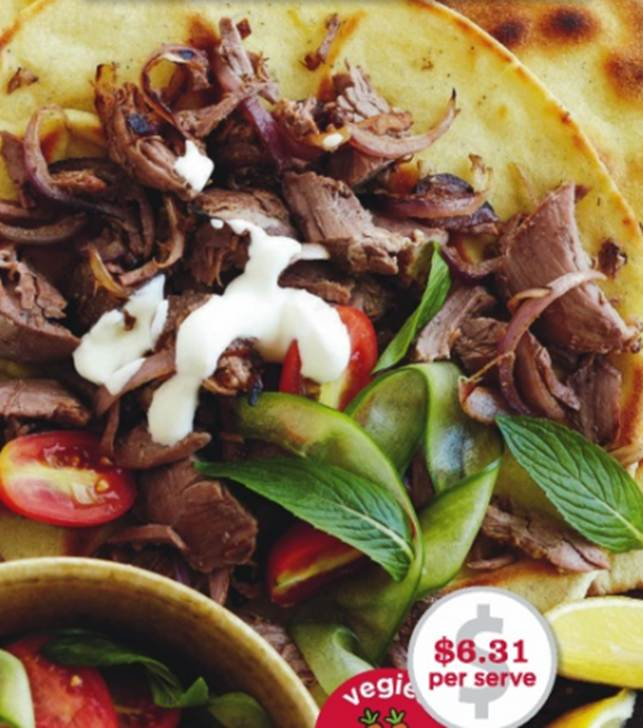 Spiced Greek Lamb With Fried Bread