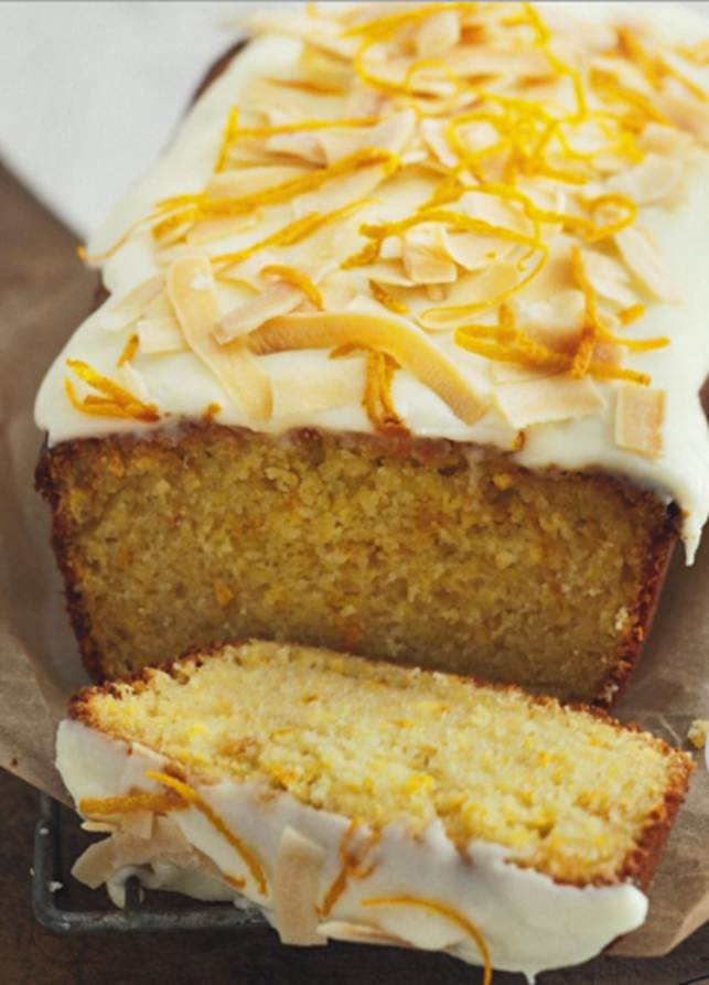 Whole Orange Coconut Cake