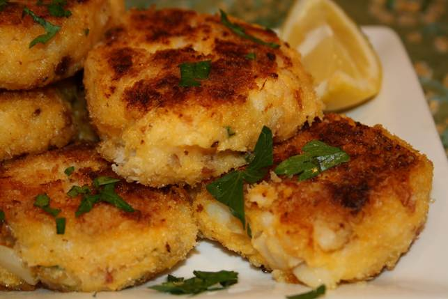 Easy Baked Fish Cakes