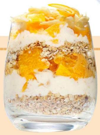 Orange and almond cranachan