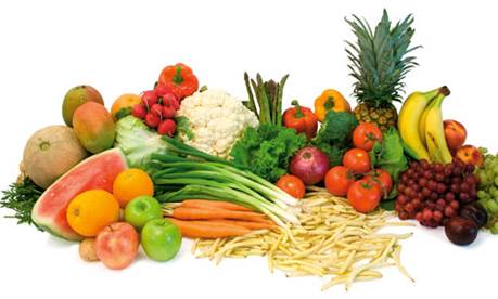 Foods rich in vitamin C and vitamin D