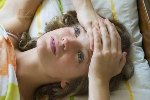 Avoid being worry before sleeping