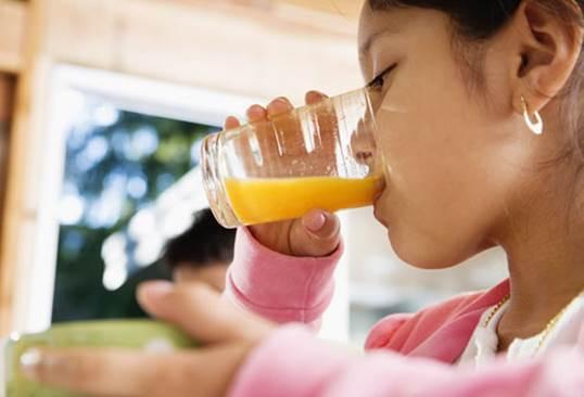 It Is Not Good When Kids Drink Fruit Juice