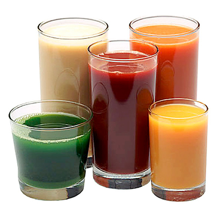 These are ingredients of pure fruit juice