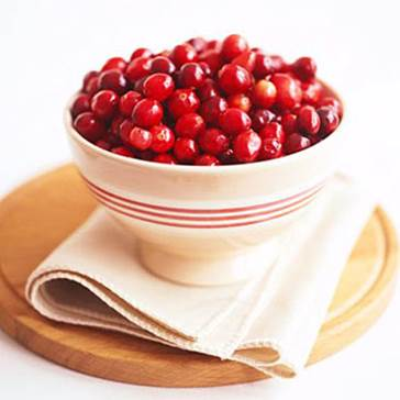 Cranberry helps to improve the immune system of our bodies.