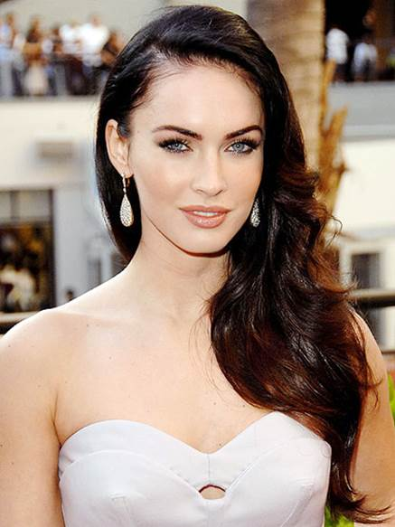 Hairstyle is among reasons helping Megan Fox rank the top sexy celebrities of all time.