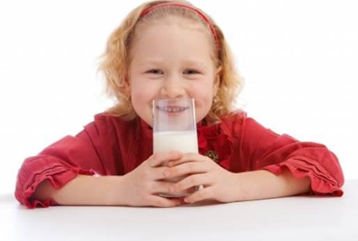 Milk increases children's height.