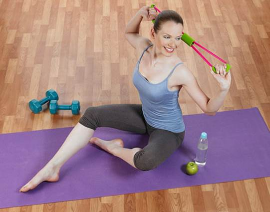 Women should practice exercises regularly before pregnancy.