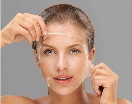 Egg is not only a kind of  food but also contains lots of vitamin good for skin care.