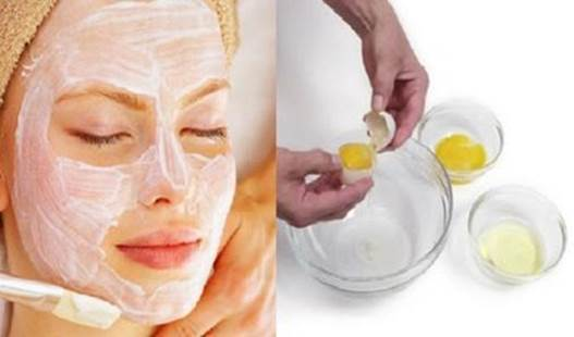 Beside using egg white mask for covering the face, you eat it every day