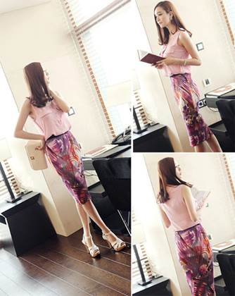 Having classic beauty, pencil skirt suits women of any age.