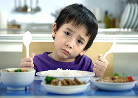 After tasting or smelling a new food, kids may vomit or refuse immediately.