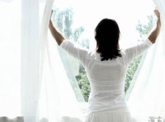 Open the windows while sleeping