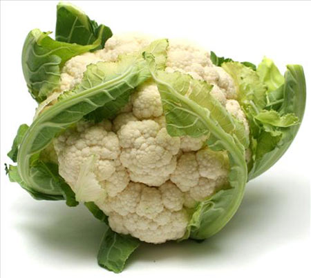 You should have cauliflowers in your autumn menu regularly.