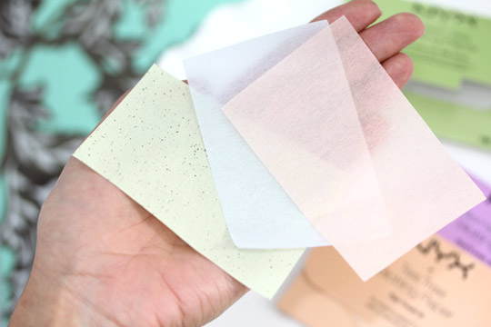 Never leave home without oil absorbent paper