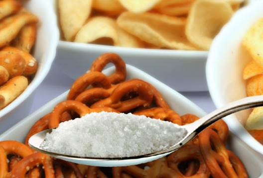 Salty foods will make you lose water quickly and make you thirstier on hot days.