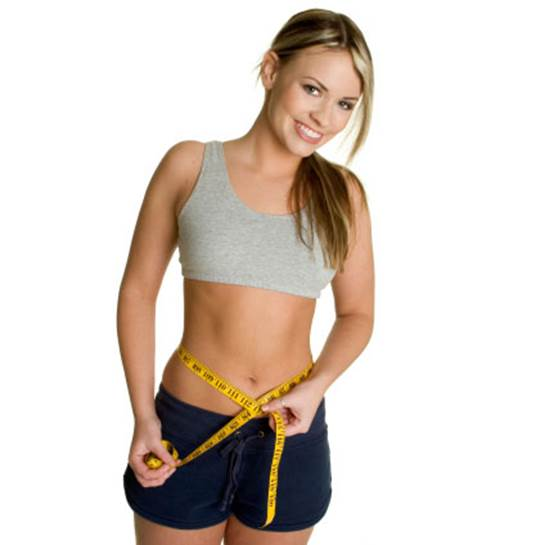 How to get a slim waist, nice body?