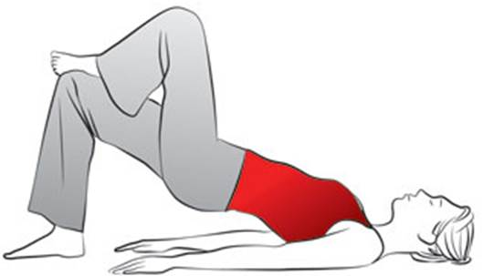 Exercise 3: Firming the thigh and leg muscles