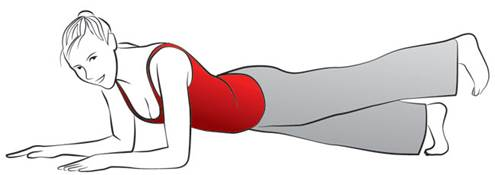 Exercise 4: Strengthening buttocks and thighs