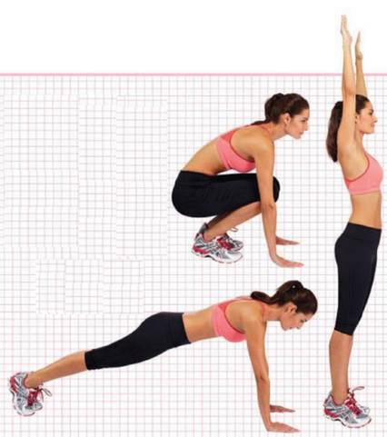 This series of movements counts as one rep