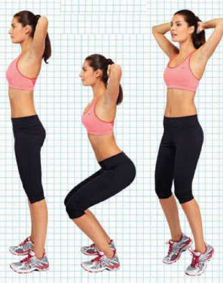 Twister squats