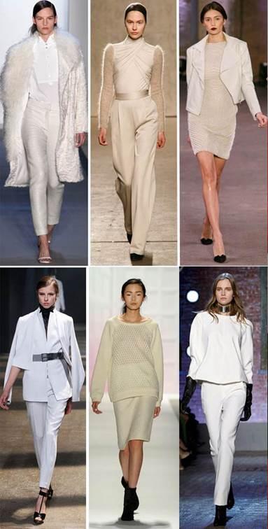 White-over-white style